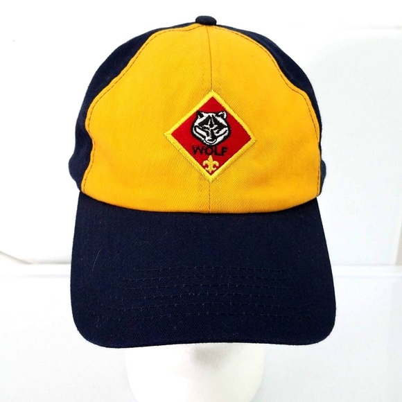Boy Scouts of America Other - Boy Scout Wolf Cub Scout Baseball Hat S M e1bf7e860eb